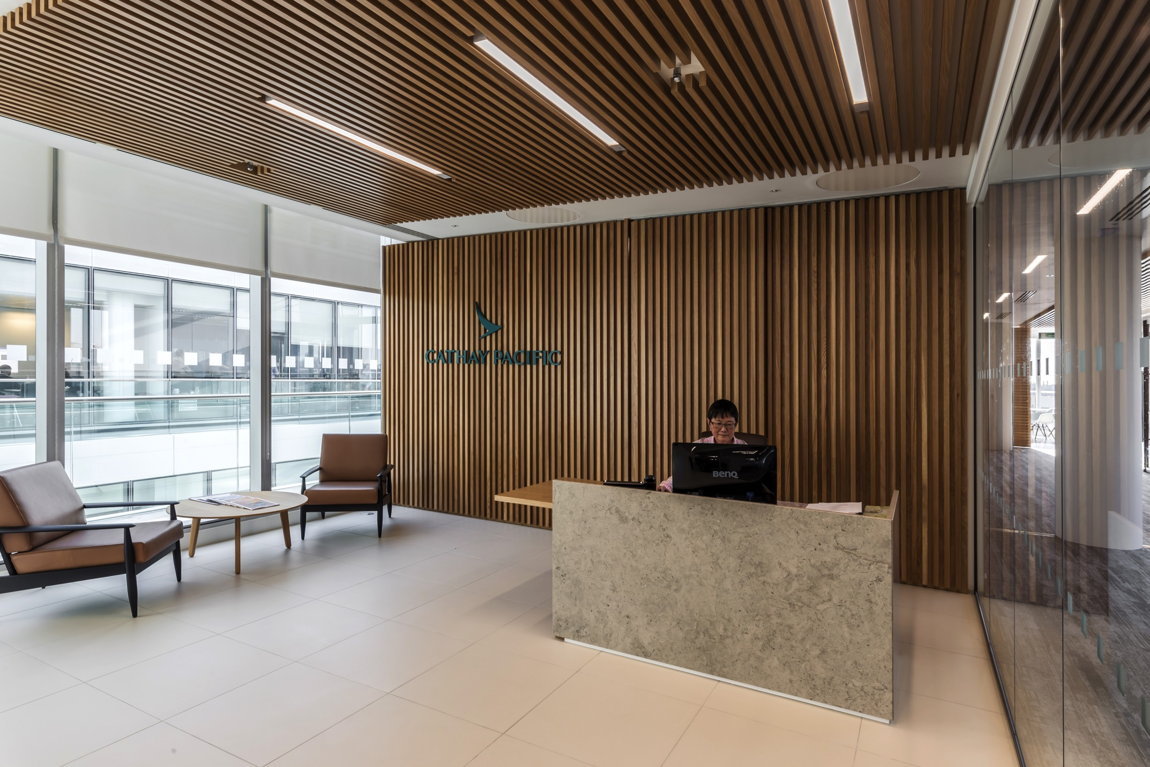 Cathay Pacific London Office Inspiration