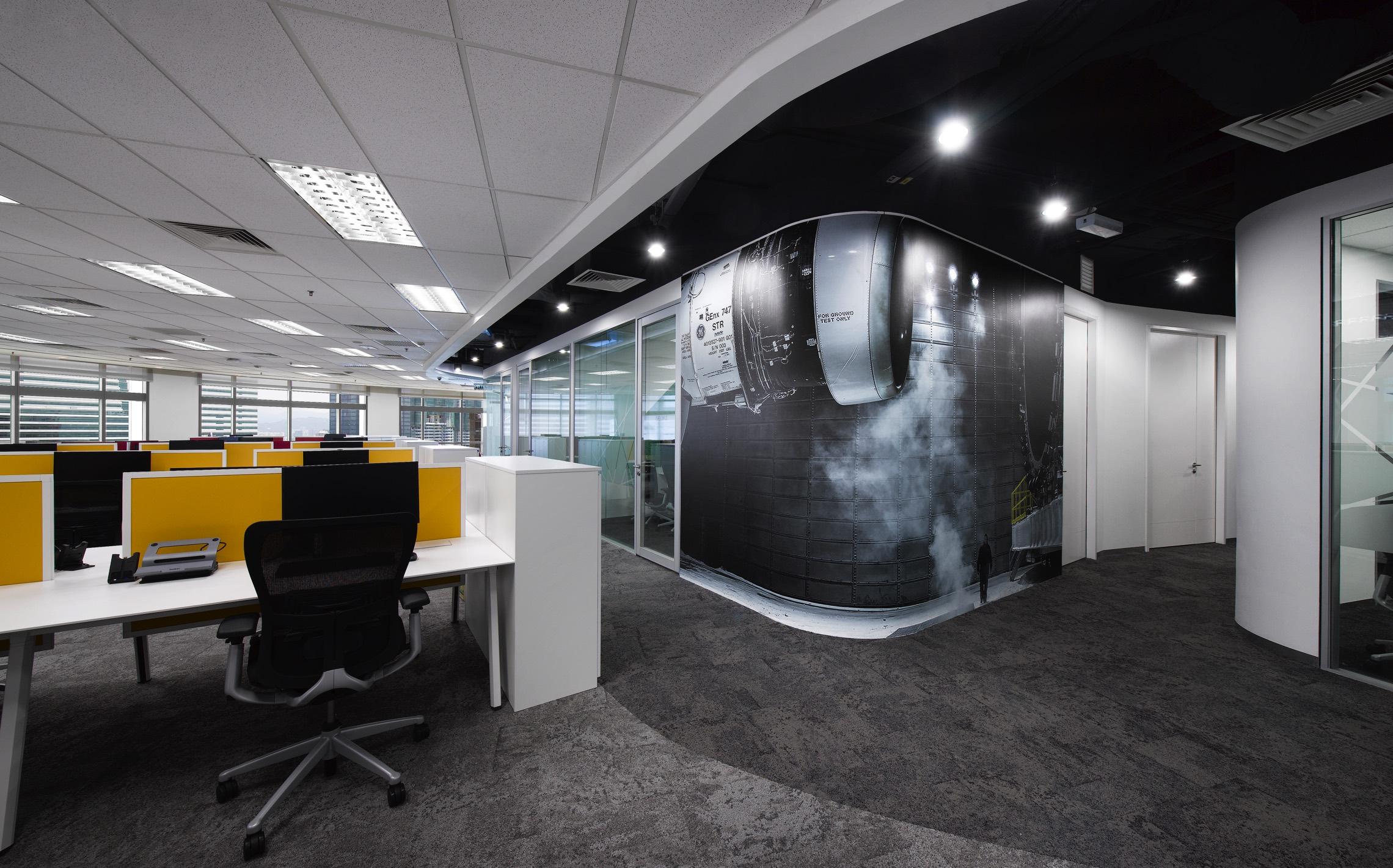 Ge kuala lumpur office inspiration for Office design kuala lumpur