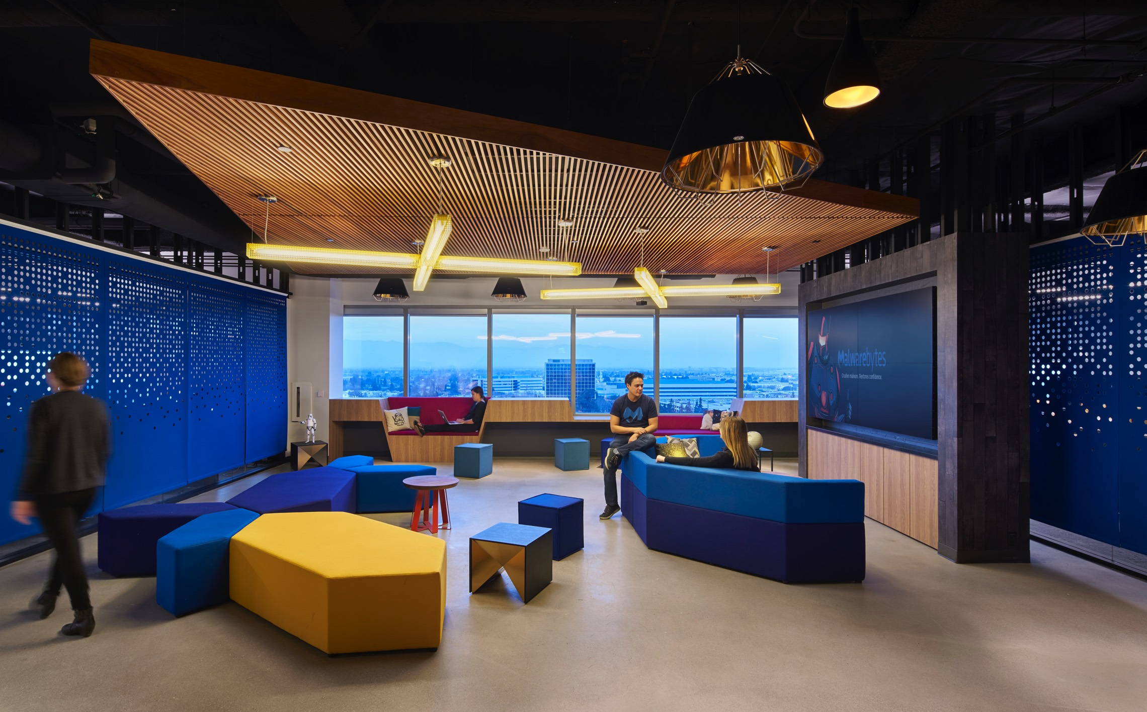 Malwarebytes, Santa Clara - Office Inspiration
