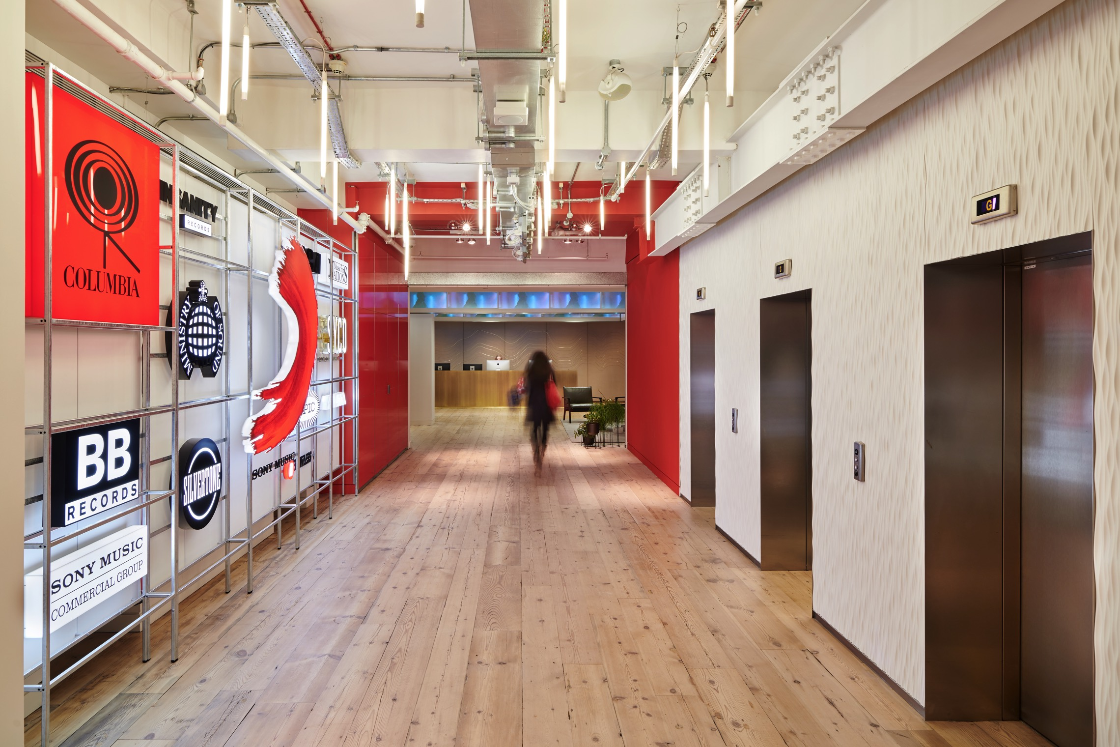 Sony Music London Office Inspiration