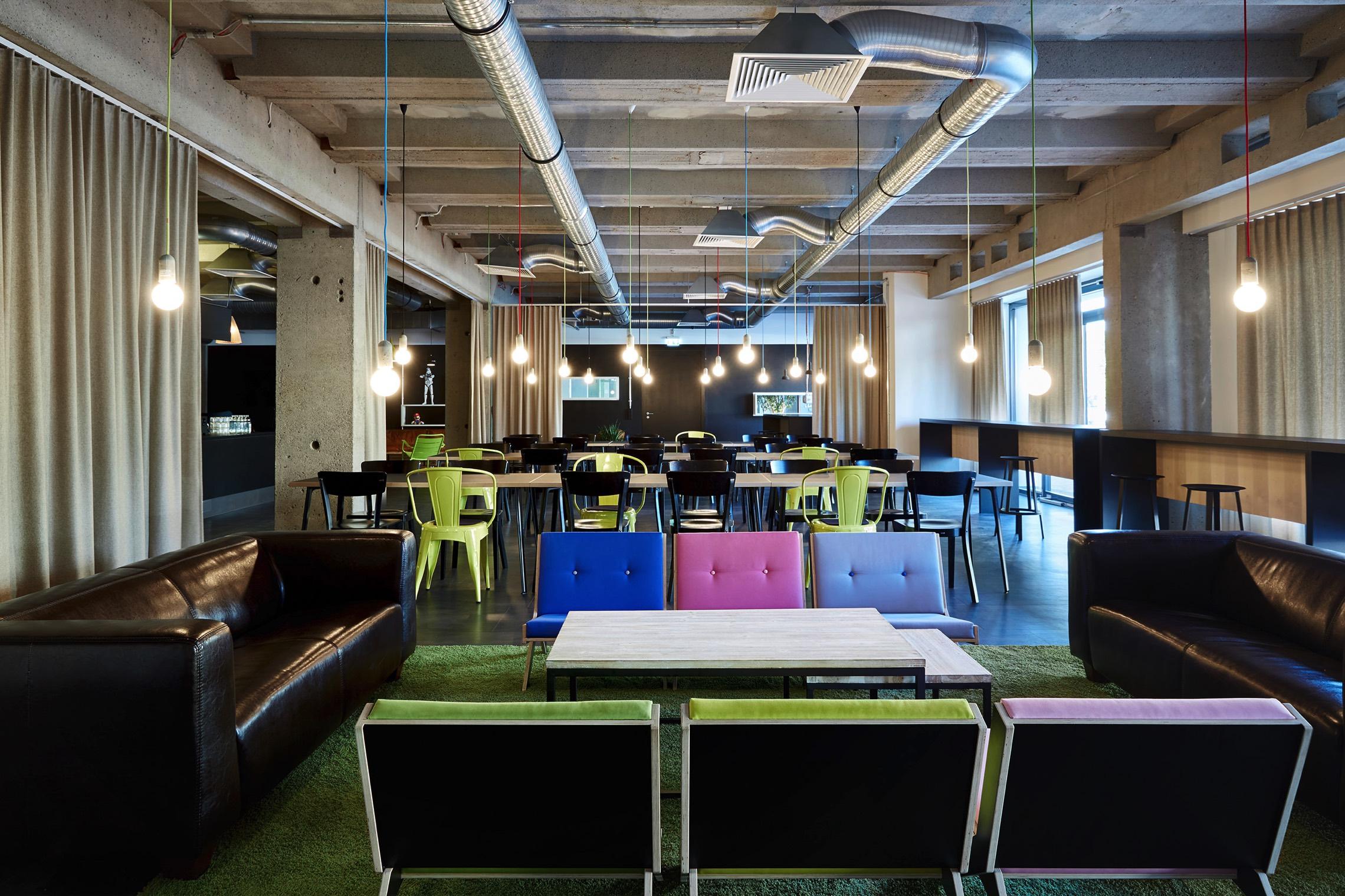 Zalando Innovation Lab Berlin Office Inspiration